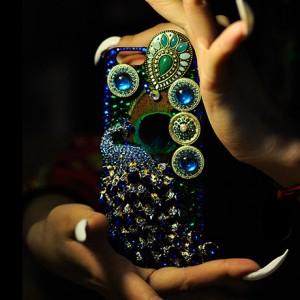 孔雀公主手机壳