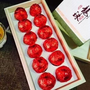 易武400年古树龙珠茶-生茶(8克*12颗/盒)
