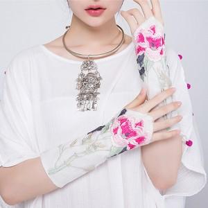 花枝刺绣指套