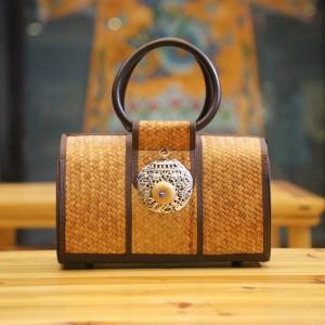 竹之物语手提包